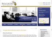 Atlanta Mesothelioma Lawyers - Buck Law Firm