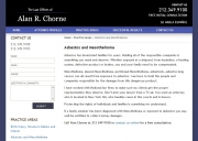 New York Mesothelioma Lawyers - Law Offices of Alan Chorne