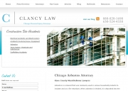 Chicago Mesothelioma Lawyers - Clancy Law
