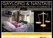 Long Beach Mesothelioma Lawyers - Gaylord & Nantais