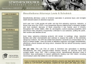 Los Angeles Mesothelioma Lawyers - The Law Firm of Lewis & Scholnick