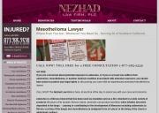 Tarzana Mesothelioma Lawyers - Nezhad Law Firm, PLC