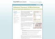 Chicago Mesothelioma Lawyers - Rosenfeld Law Offices, LLC