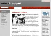 Dallas Mesothelioma Lawyers - Waters, Kraus & Paul